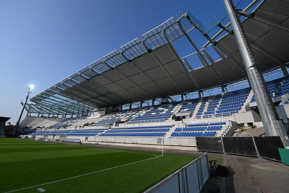 Karlsruher SC | Wildparkstadion | Kapazität: 20.000 | Auslastung: 10.000 | Auslastung in Prozent: 50.
