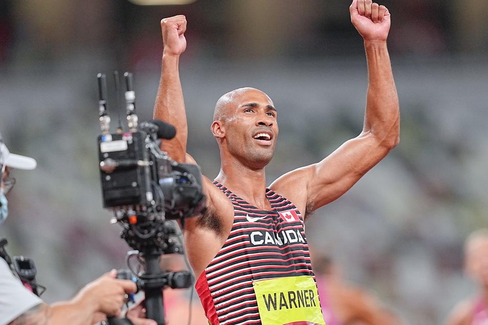 Der neue König der Athleten: Zehnkampf-Olympiasieger Damian Warner aus Kanada.