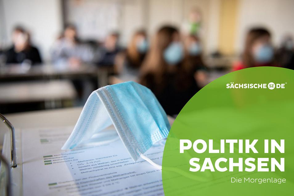 Masken im Schulunterreicht - damit könnte es in Sachsen schon bald vorbei sein.