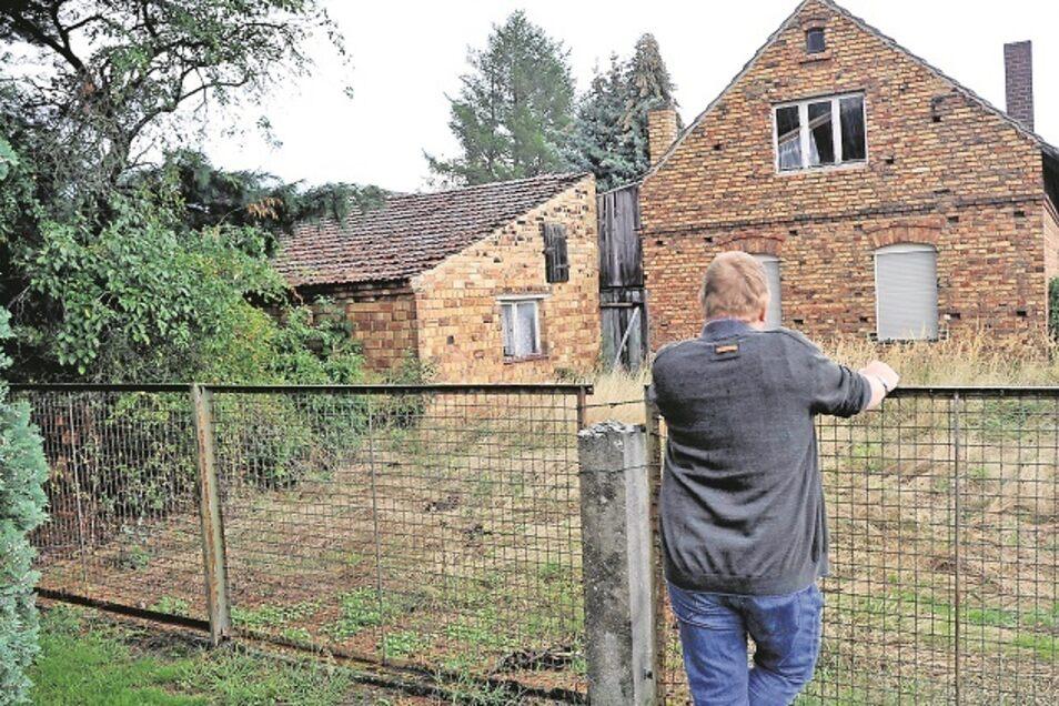 Dieses Haus in Mühlrose gehört zu den ersten, die als Folge der Umsiedlungsvereinbarung mit der Leag aus dem Jahr 2019 abgerissen werden.