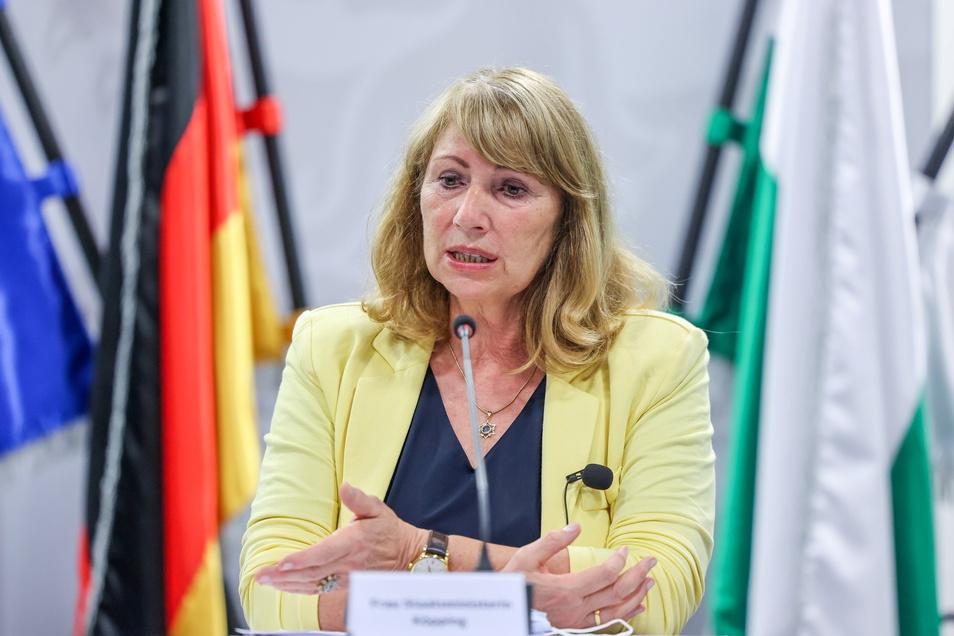 Petra Köpping (SPD),Sozialministerin von Sachsen.
