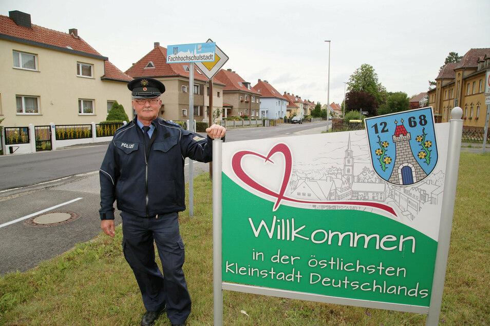 Andreas Stange ist der neue Bürgerpolizist von Rothenburg.