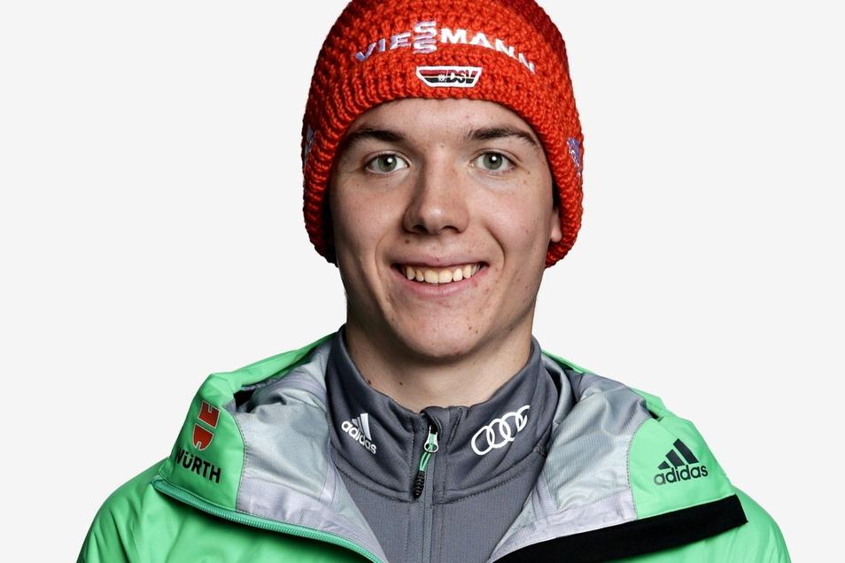 Mit 24 Jahren feiert Justus Strelow am Freitag sein Debüt im Biathlon-Weltcup.