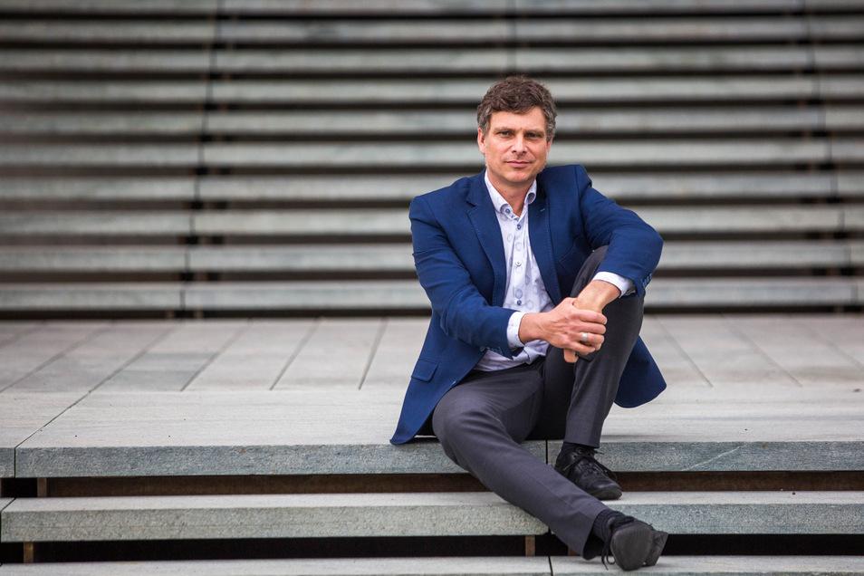 """""""Mitzugestalten macht Spaß"""": Thomas Löser, Landes- und Stadtpolitiker der Grünen"""