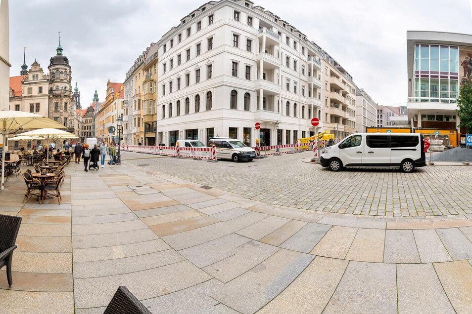 "Der ""Platzhirsch"" öffnet im neuen Quartier Schlosseck an der Ecke Schloßstraße/Rosmaringasse."