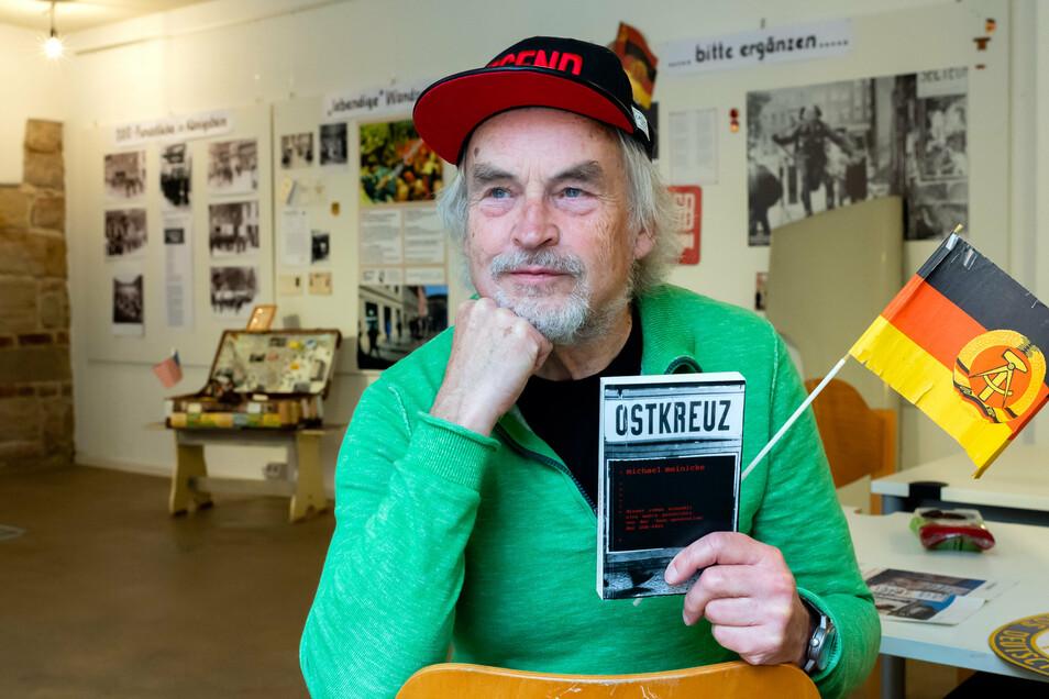 Michael Meinicke floh 1978 in den Westen. Der Autor spricht am Freitag in Königstein über sein Leben im Osten und Westen.