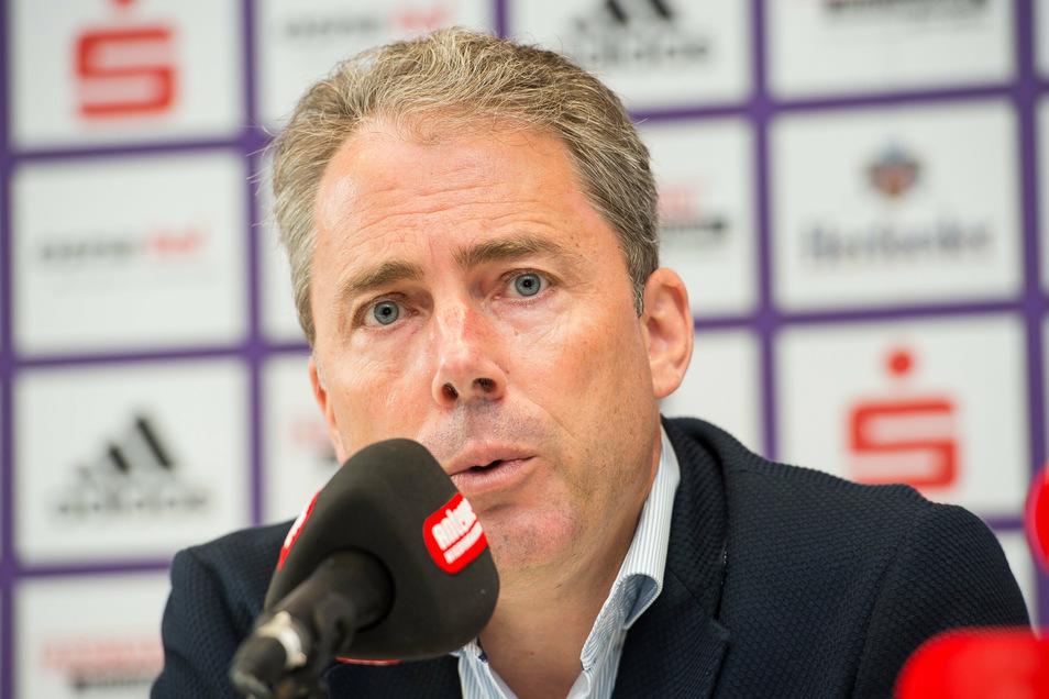 Jürgen Wehlend ist Dresdner und Geschäftsführer, allerdings beim VfL Osnabrück. Wechselt er zu Dynamo?