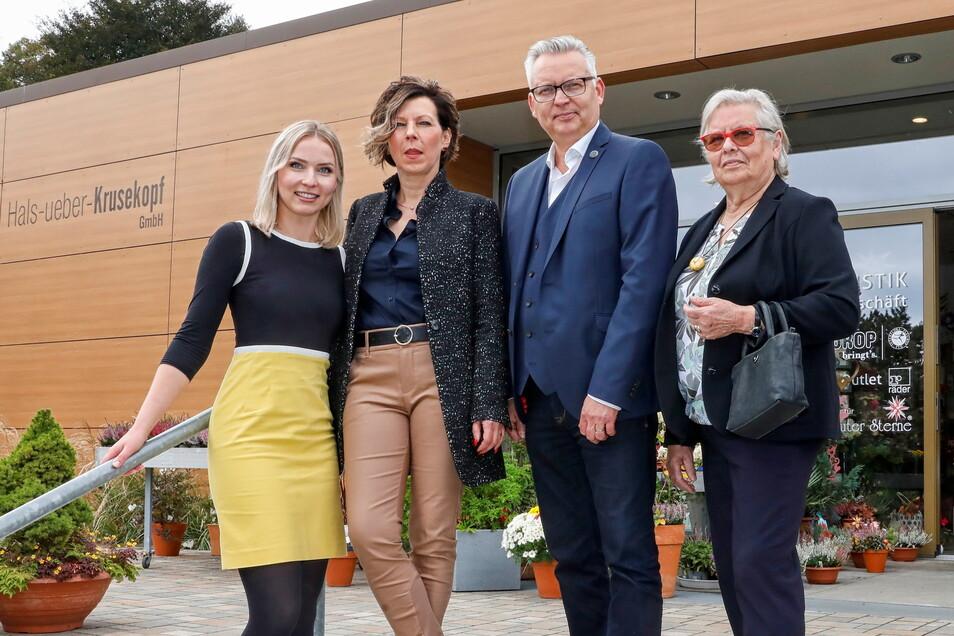 Drei Generationen Krusekopf: Senior-Chefin Irmgard, Carmen und Thomas Krusekopf und Tochter Emily, die den Familienbetrieb weiterführen wird. In diesem Jahr feiert die Firma ihr 125-jähriges Bestehen.