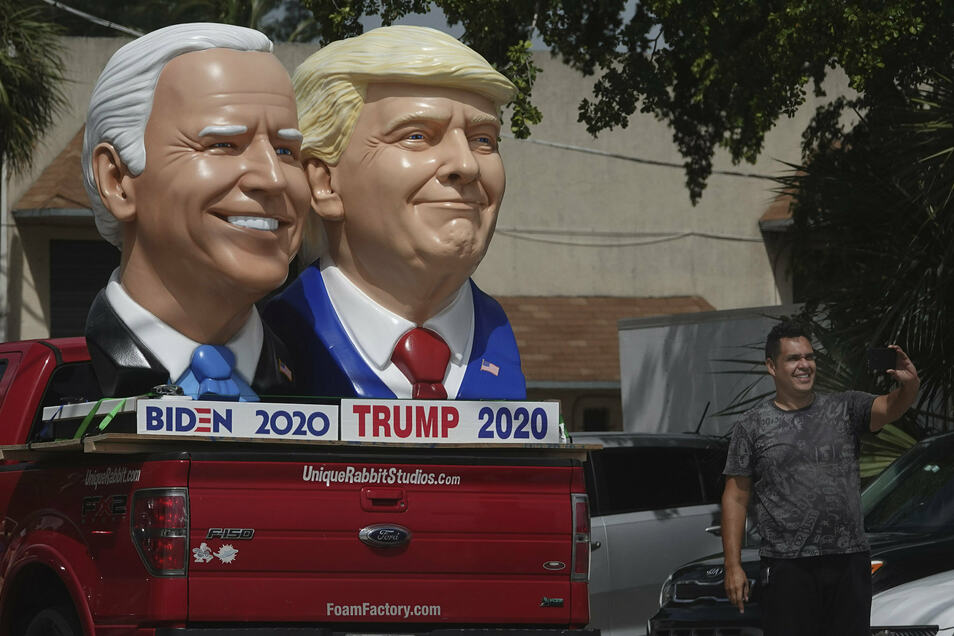 Am 29. September treten Donald Trump und Joe Biden bei der ersten TV-Debatte gegeneinander an.