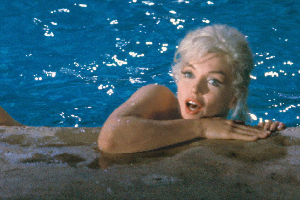 Marilyn Monroe 1962 in einer der legendären Pool-Szenen.