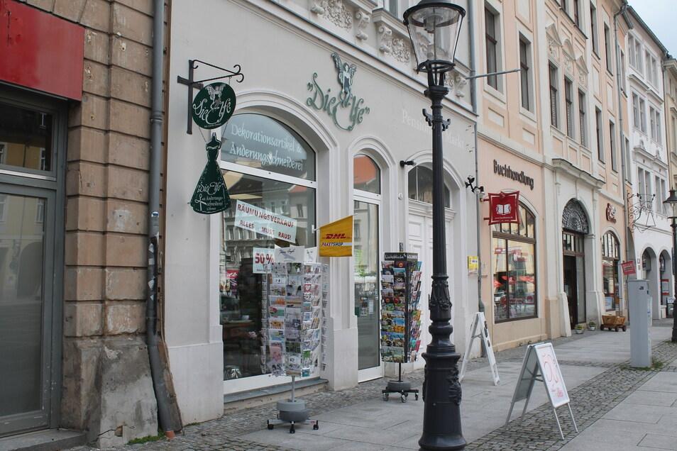 """""""Die Elfe"""" auf dem Zittauer Markt schließt Ende Juni."""