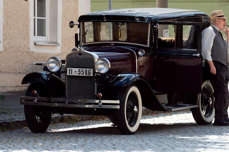 Oldtimer waren erlaubt - moderne Autos mussten für ein paar Tage fernbleiben.