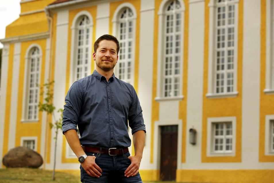 Johannes Nitzsche hat am Sonntag die Bürgermeisterwahl in Oßling für sich entschieden.
