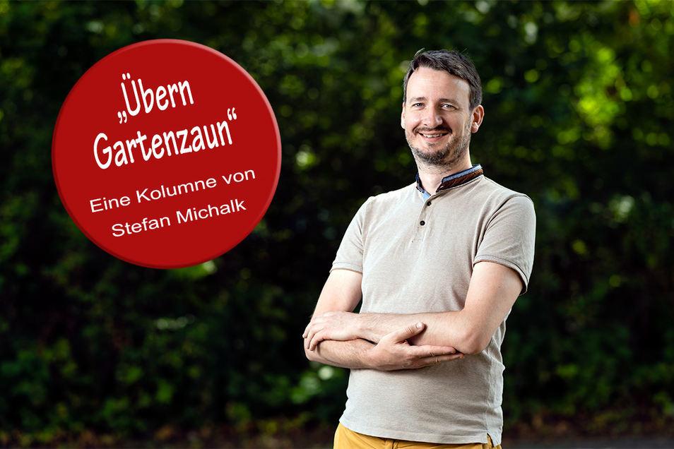 Stefan Michalk ist Hobbygärtner in Bautzen