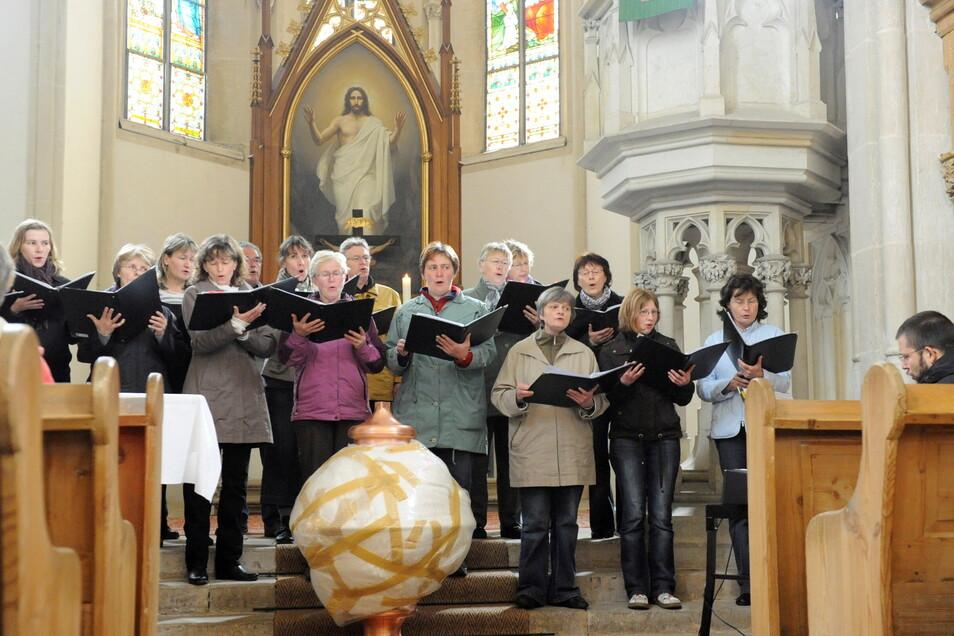 Der Wantewitzer Kirchenchor in einer früheren Aufnahme.
