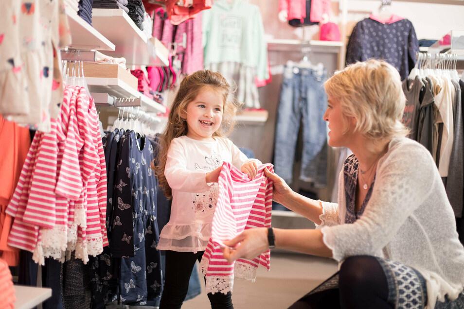 Geschäft von Ernsting's family: In Kürze mehr Verkaufsfläche in Pirna.