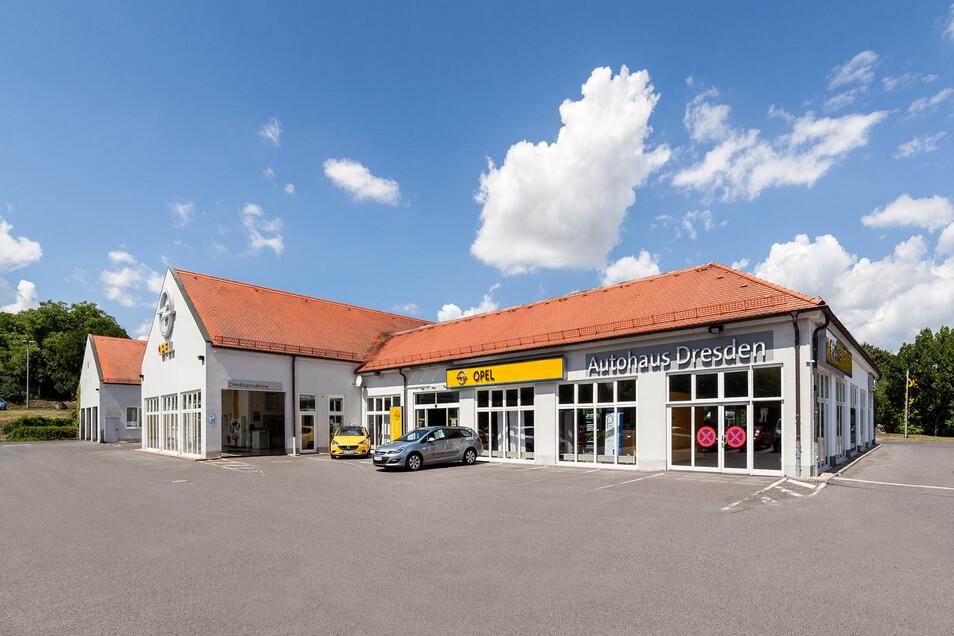 Am Standort in Kaitz ist eine von zwei modernen Lackier- und Karosseriewerkstätten entstanden.