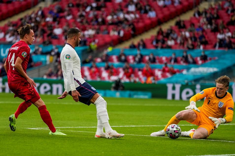 Englands Torhüter Jordan Pickford