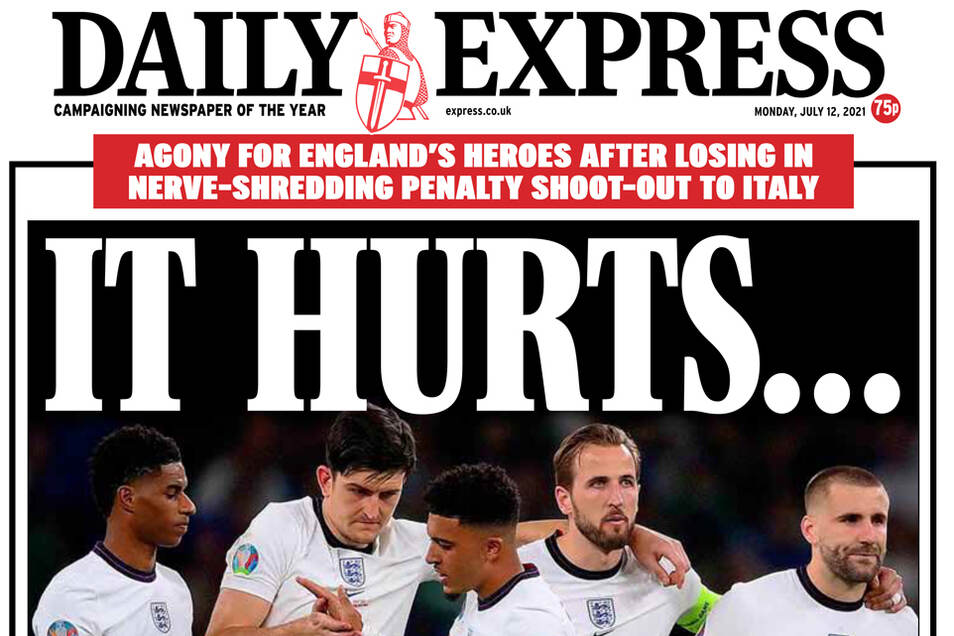Die britischen Zeitungen haben am Montag keine positiven Nahrichten für ihre Leser.