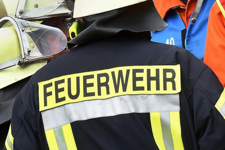 Augenzeugen hatten die Dresdner Feuerwehr alarmiert. Die musste am Abend ausrücken.