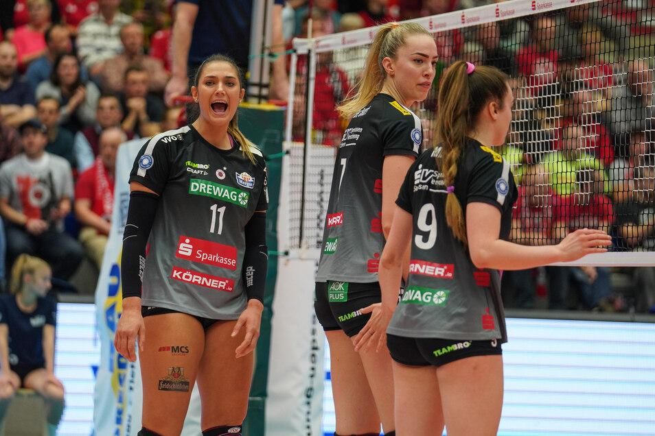 Die Volleyballerinnen des Dresdner SC können sich freuen: der Termin für ihren Saisonstart steht fest.