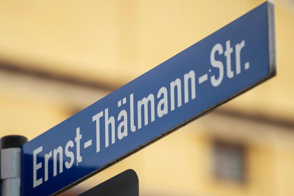 Die Ernst-Thälmann-Straße bleibt die Ernst-Thälmann-Straße. Doch wann gibt es eine Woldemar-Winkler-Straße?