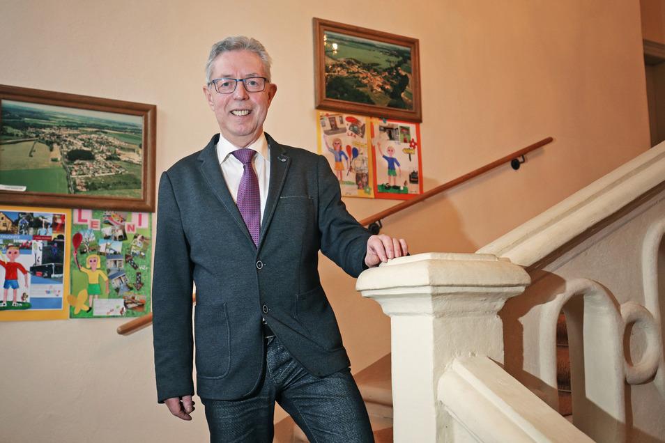 Abschied nach einer Wahlperiode: Der Stauchitzer Bürgermeister Frank Seifert tritt am 10. Mai nicht erneut zur Wahl als Gemeindeoberhaupt an.