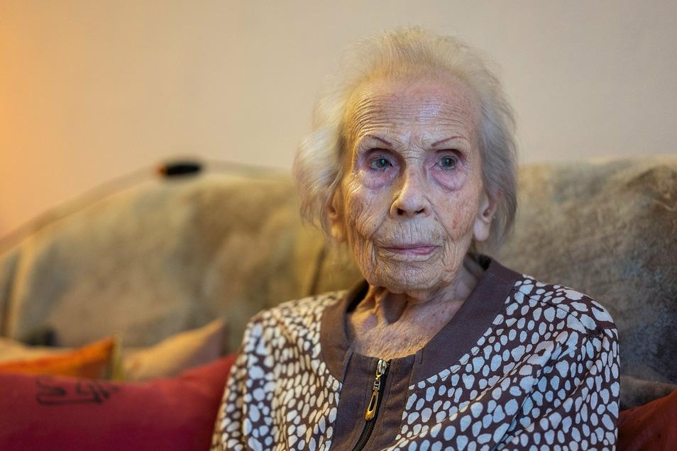 Ingeborg Puschmann begeht am 7. Januar ihren 104. Geburtstag in der Pflegeresidenz Villa Marie Curie an der Joliot-Curie-Straße in Görlitz.