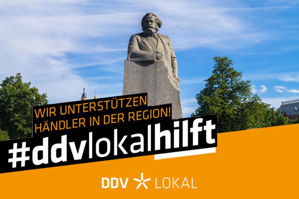 Auch Händler und Gewerbetreibende aus dem Raum Chemnitz sind bei #ddvlokalhilft zu finden!