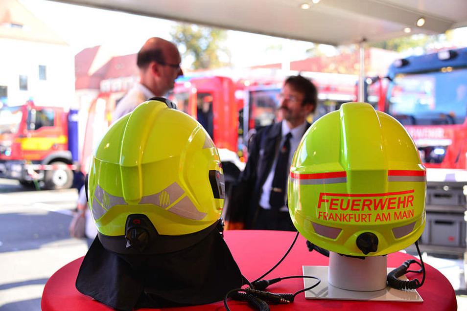 Feuerwehrtechnik zum Anfassen.