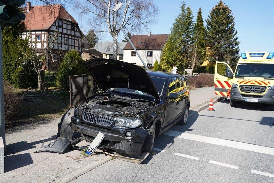In Rodewitz/Spree ereignete sich am Mittwochmittag ein Unfall, bei dem Alkohol im Spiel war.
