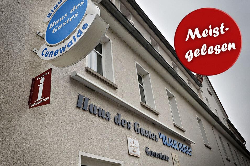 In der Blauen Kugel in Cunewalde gibt es derzeit Zoff zwischen dem Wirt und einem Programmveranstalter.