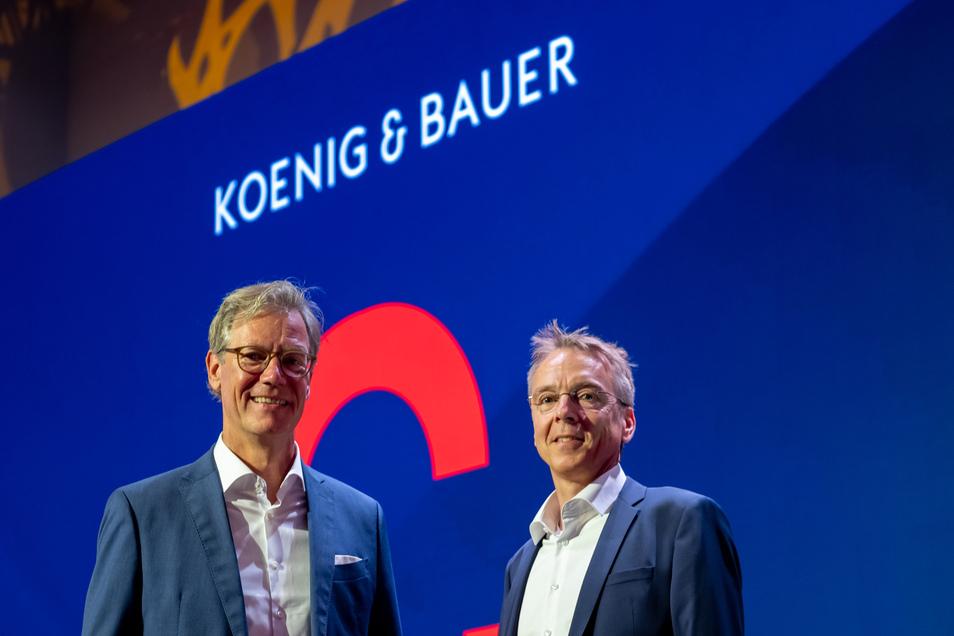Bereits seit 1898 werden in Radebeul Druckmaschinen gebaut. Heute zählt das Unternehmen Koenig & Bauer mit Stammsitz in Würzburg unter anderem zum Weltmarktführer beim Druck im Bogenoffset-Großformat.