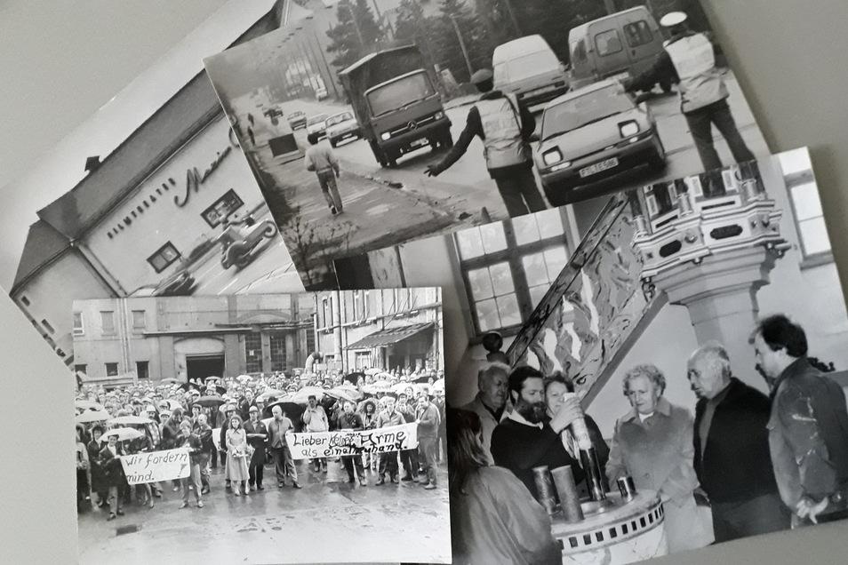 Freitals Geschichte in Schwarz-Weiß: Fürs Stadtfest zum 100. Gründungsjubiläum werden noch Fotos gesucht.
