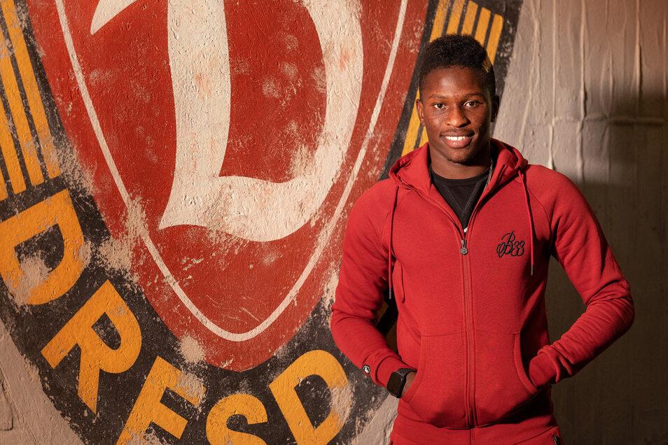 Wie lange ist Moussa Koné noch bei Dynamo in Dresden? Um den Stürmer gibt es mal wieder Transfer-Gerüchte.