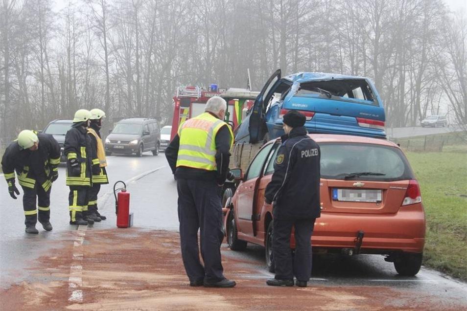 Wie es zu dem Unfall in Richtung Niedergurig kam, ist noch nicht geklärt.