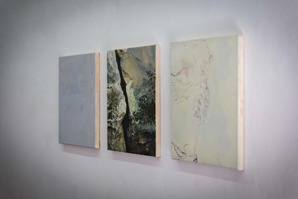 Erica Richter überzeichnet und vereinfacht in ihren Bildern, bei der Farbpalette bleibt sie eng beim Original.