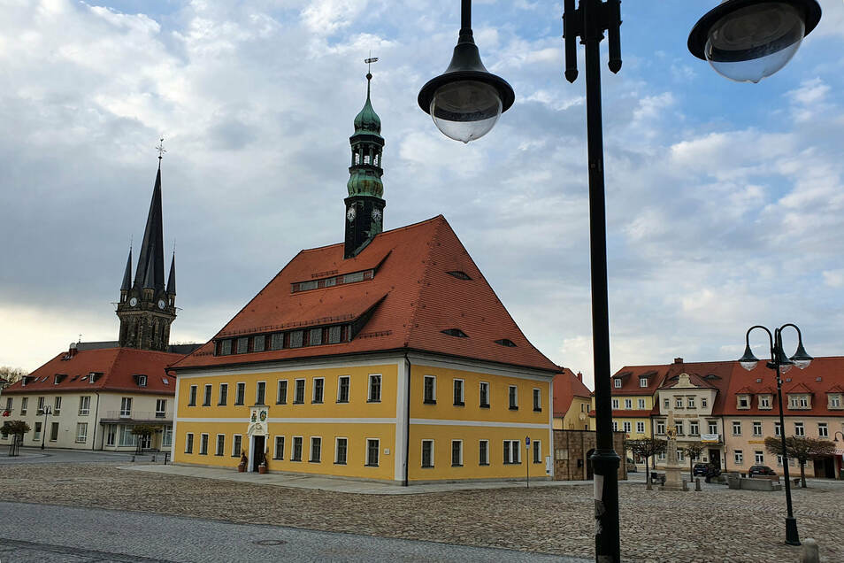 Marktplatz in Neustadt.