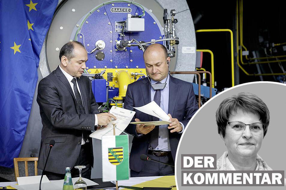Über die Städtepartnerschaft zwischen Görlitz und Zgorzelec.