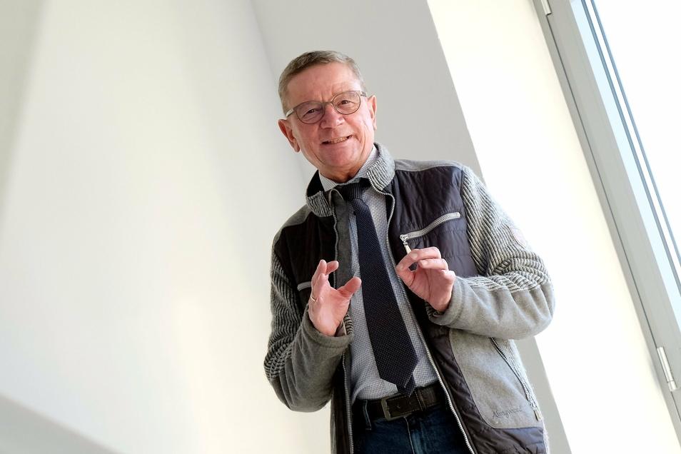Nach drei Wahlperioden als Bürgermeister in Käbschütztal geht Uwe Klingors Amtszeit 2022 zu Ende.