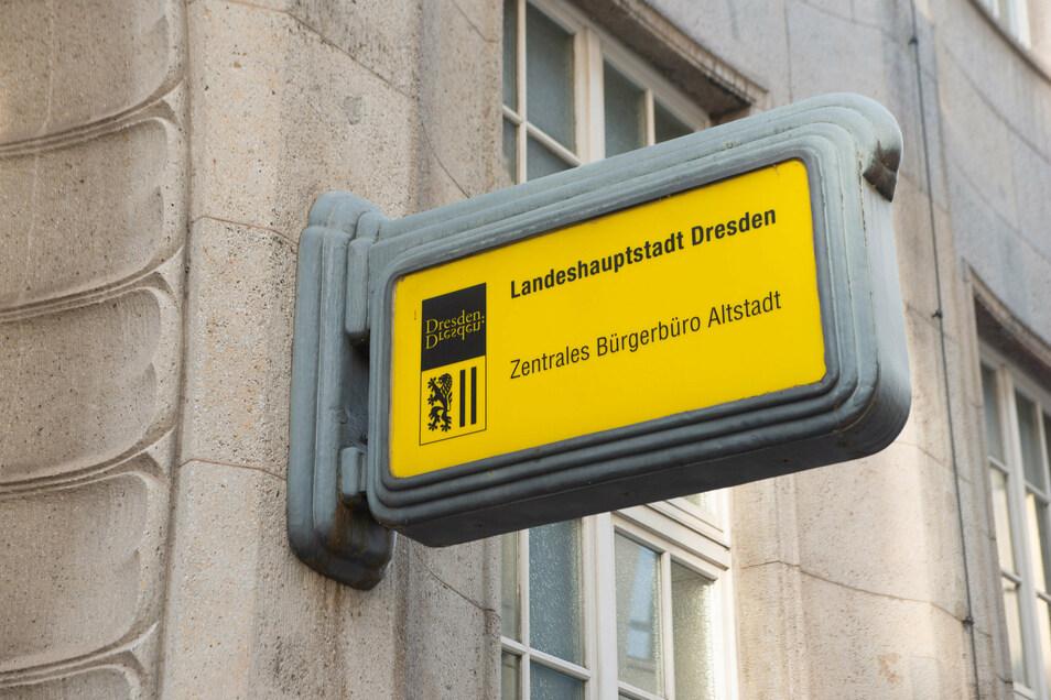 Das Bürgerbüro Altstadt in der Theaterstraße 13 hat vom 12. bis 23. Oktober nicht für alle Dresdner geöffnet.