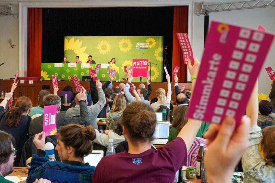 Sachsens Grüne haben in Annaberg-Buchholz ihren neuen Landesvorstand gewählt.