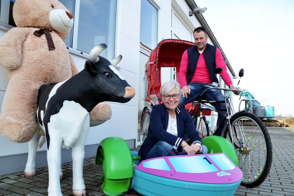 Fröhlichkeit und Bewegungsspaß anbieten – die Mission des Kinderlandes Böhm von Stefan und Tina Böhm.