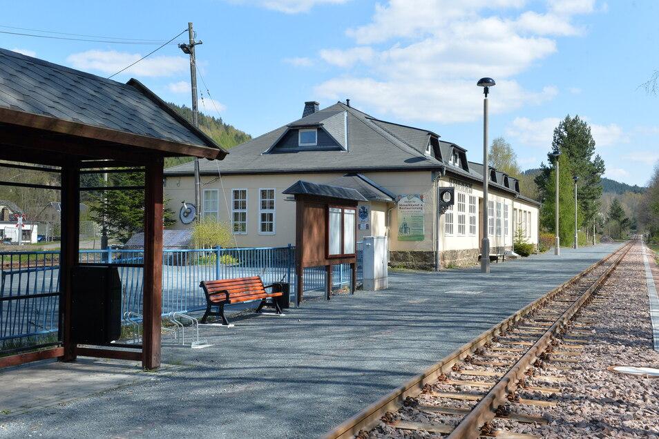 Der Bahnhof soll eine bessere Anbindung an das Ortszentrum und an die Wanderwege bekommen.
