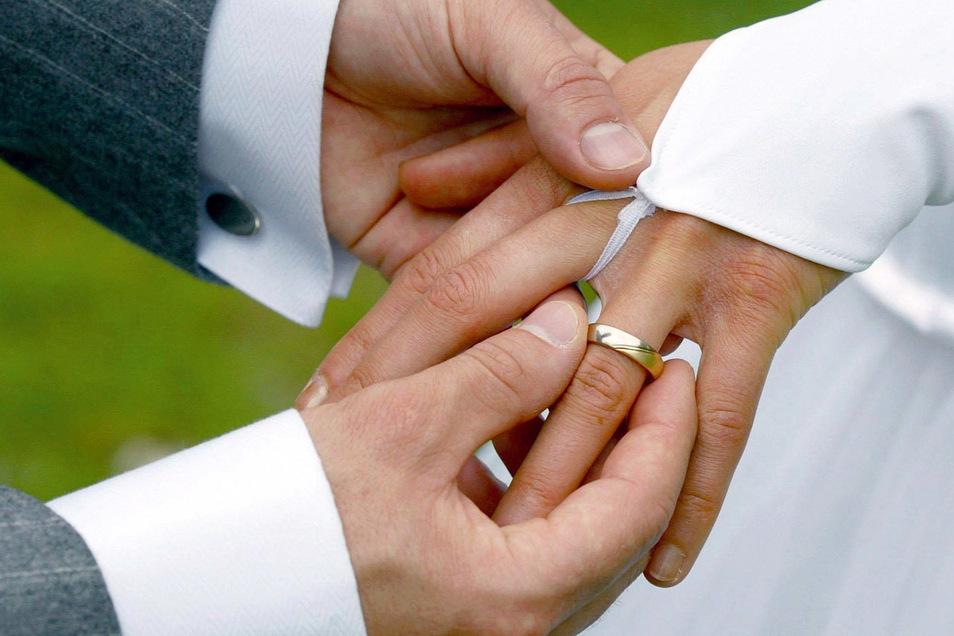 Im vergangenen Jahr gab es in Freital weniger Eheschließungen als noch 2019.
