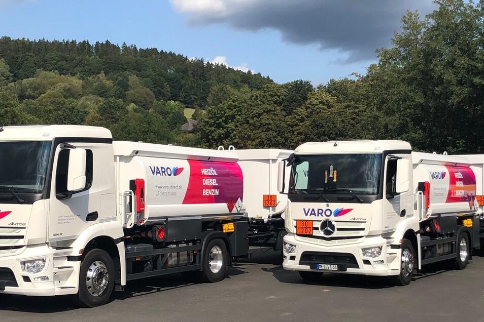 Lieferung direkt nach Hause. VARO Energy Direct verfügt über eine eigene Flotte.