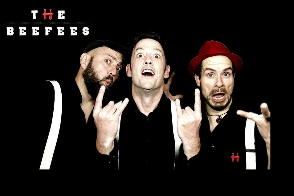 Die Partyband Beefees zeigt in wenigen Tagen, wie sie aus bekannten Hits machen kann.