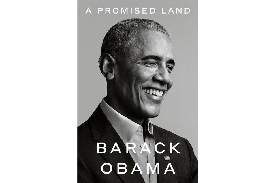 """In sechs Millionen Exemplaren erschien """"A Promised Land"""" am Dienstag in 19 Sprachen gleichzeitig."""