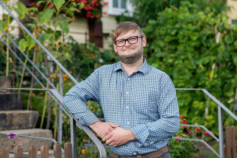 David Wolf (32) ist von Beruf Servicetechniker beim Werkzeugmaschinenproduzenten Trumpf am Stammsitz in Ditzingen. Er lebt in Weifa und arbeitet, wenn möglich, von zu Hause aus.