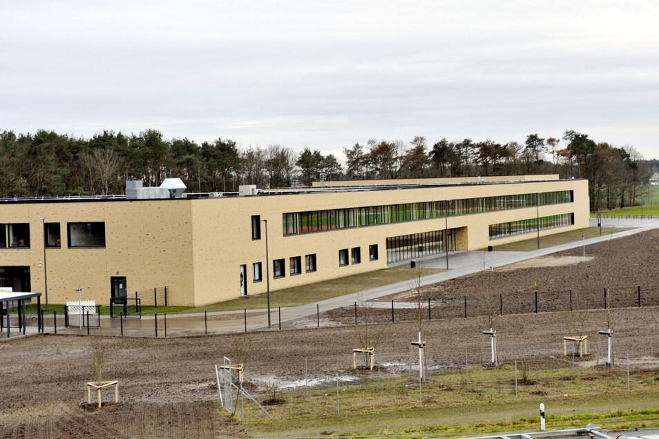 Der Deutsch-Sorbische Schulkomplex in Schleife ist nahezu fertig.